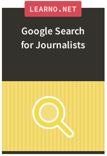 Google Search for Journalists